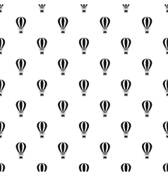 Air balloon pattern simple style vector