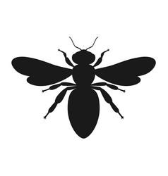 Bee sign vector