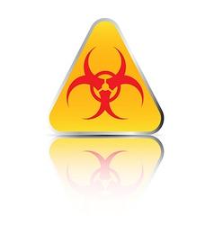 biohazard sign2 vector image