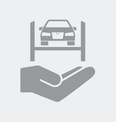 car repair services concept vector image