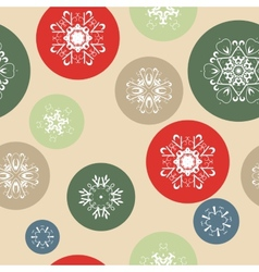 Color Snow Background vector image
