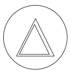 Delta greek symbol capital letter uppercase font vector