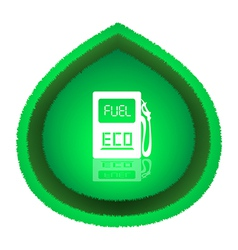 Eco Fuel Concept vector image