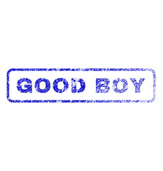 Good boy rubber stamp vector