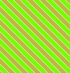 Green olive seamless diagonal stripe background vector image