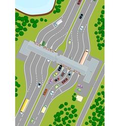 Highway Toll vector