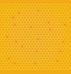 Honeycomb seamless pattern vector