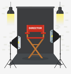 photo videoporodaction studio vector image
