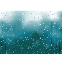 Rain background vector