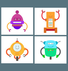 Robots collection of types vector
