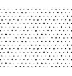 stars wavy lines vector image