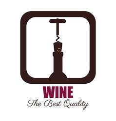 Wine design over white background vector