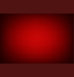 red perforated grid background vector image vector image