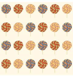 Seamless pattern with Lollipops vector image vector image