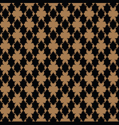 luxury pattern royal gold pattern vector image vector image