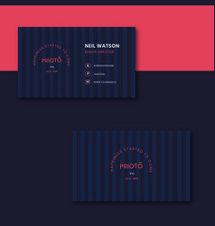 Bussiness card vector