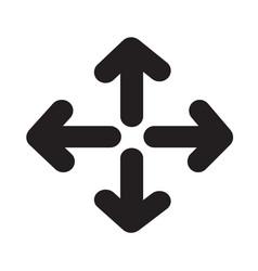 full screen icon design vector image