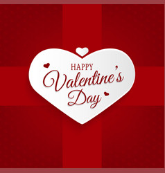 happy valentines day abstract background vector image