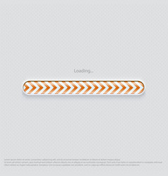Loading web design orange vector