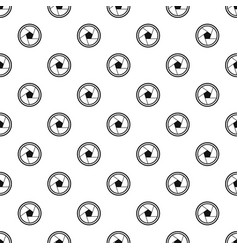 Photo objective pattern vector