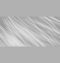 realistic plastic polyethylene wrap texture vector image