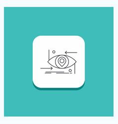 Round button for advanced future gen science vector