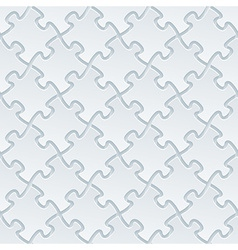White perforated paper vector image