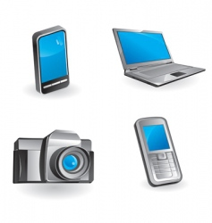 multimedia communication vector image