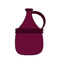 wine antique jar vector image