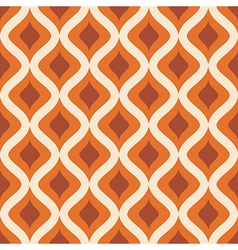 abstract seamless ornament pattern vector image vector image