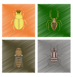 Assembly flat shading style bug vector