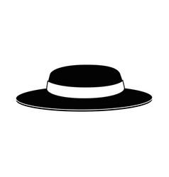 gardener hat isolated vector image