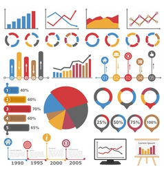 Graphs and Diagrams vector