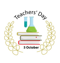 happy teacher s day funny concept stock vector image