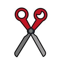 Scissors stationery tool icon image vector