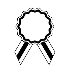 seal medal isolated icon vector image