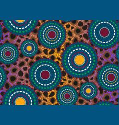 seamless african wax print fabric ethnic motifs vector image