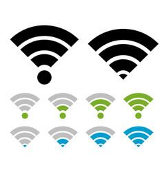 signal symbol set vector image