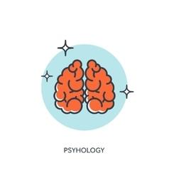 Brains Psyhology vector image