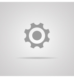 gear icon Flat design style vector image