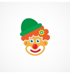 Clown icon vector image vector image
