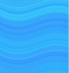 Blue abstract smooth wave background design vector image