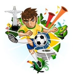BRAZIL CUP vector