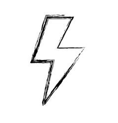 figure energy hazard sign to electrical warning vector image