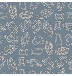 geometric hand drawn seamless pattern of of vector image