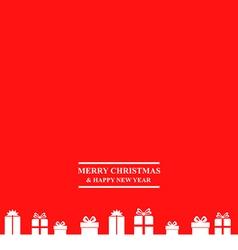 gift banner vector image
