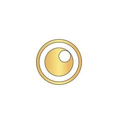 pupil computer symbol vector image