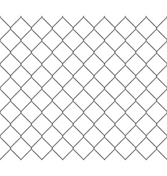 New steel mesh metal fence seamless structure vector image vector image