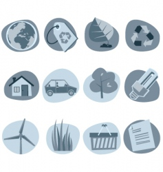 website icons vector image