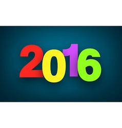 2016 paper sign vector